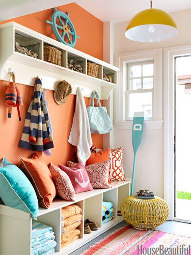 cute-nautical-orange-home-decor