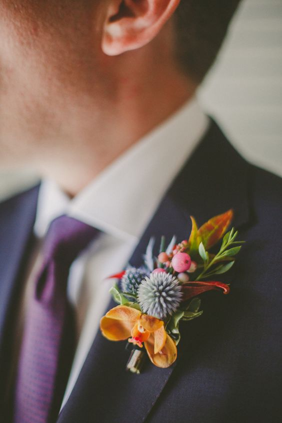 mens-tropical-floral-wedding-corsage