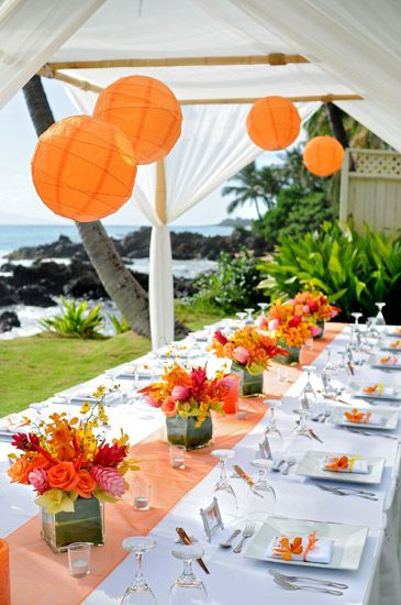 orange-white-wedding-table-layout