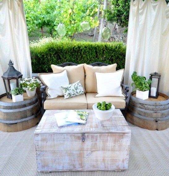 Merveilleux Small Patio Decor Ideas
