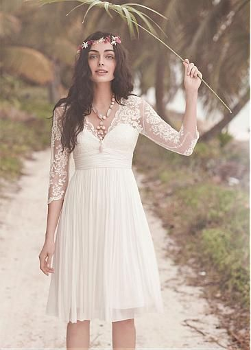 boho-wedding-dress-short