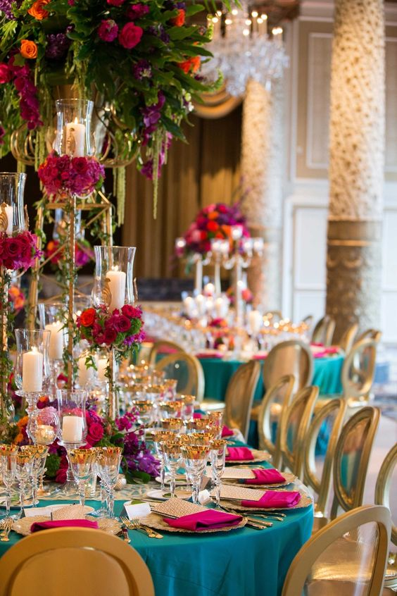 ethnic-wedding-theme-table-setting-decor