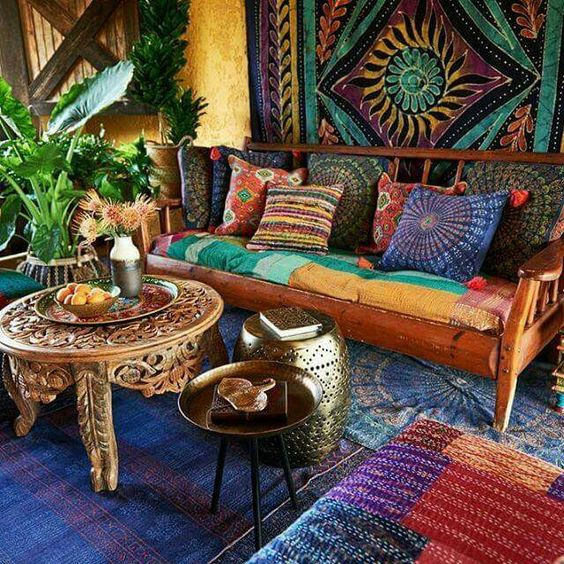 Merveilleux Indian Inspired Living Room Wall Hang