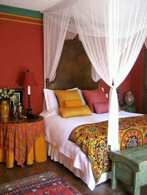 orange-moroccan-bedroom
