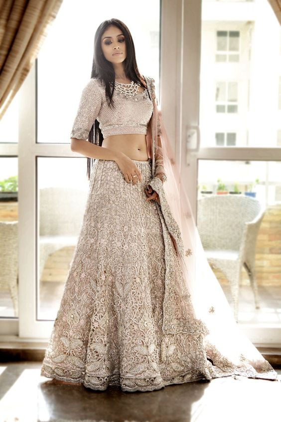 two-piece-indian-wedding-dress