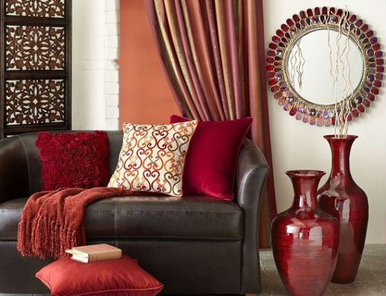 boho-red-home-decor