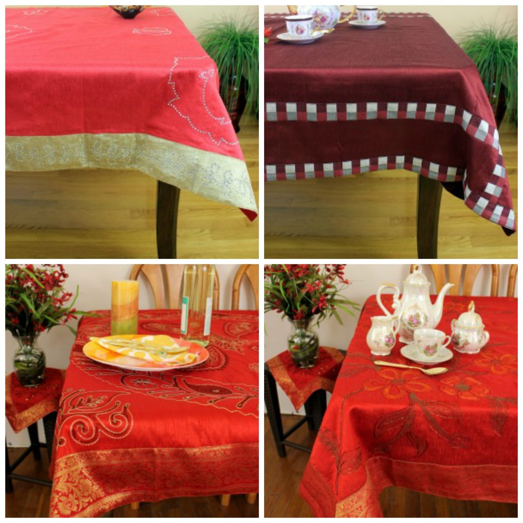 red-table-cloth