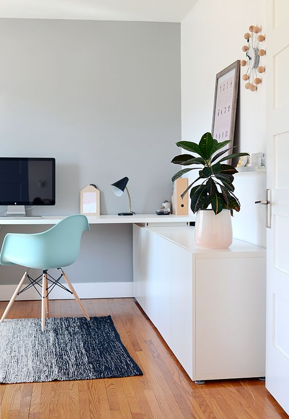 white-and-mint-home-decor-office