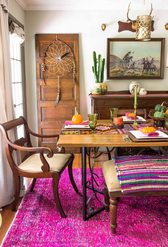 boho-fall-kitchen