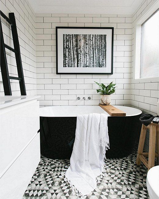 white bathroom with black floor bathroom decor crush the black bath tub 24634