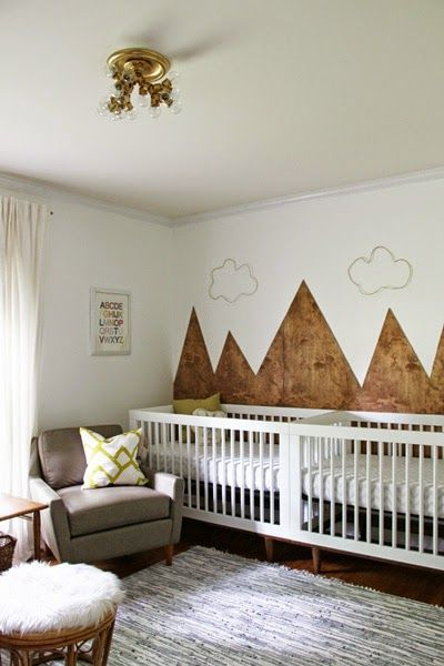 boho-nursery-with-accent-wall