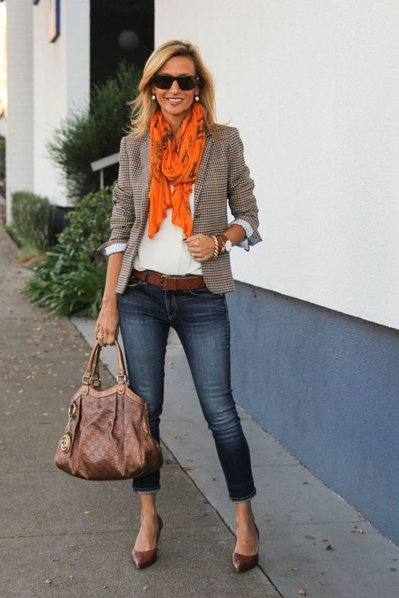 checked-jacket-with-orange-scarf