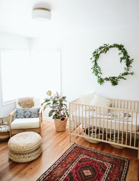 gender-neutral-boho-nursery