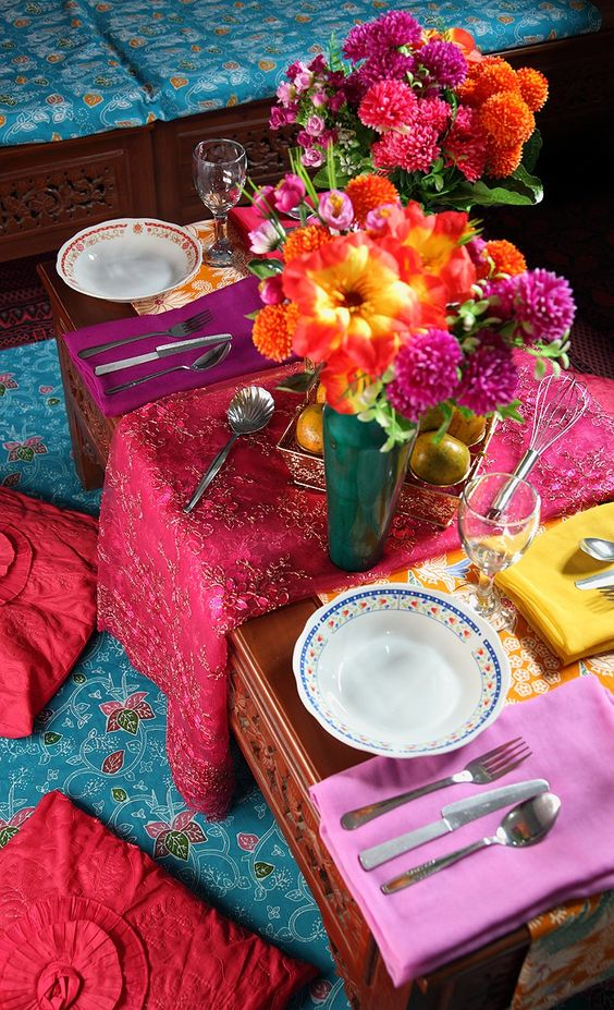 indian-table-layout-modern-bright-colors