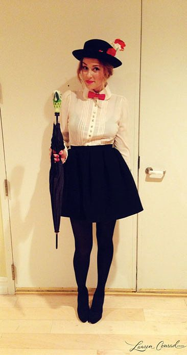 lauren-conrad-mary-poppins-halloween-costume