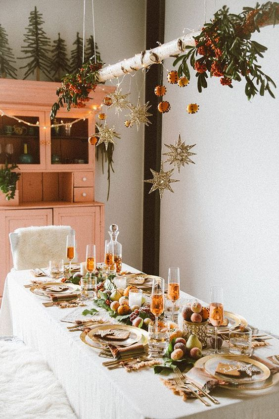 boho-christmas-table-layout