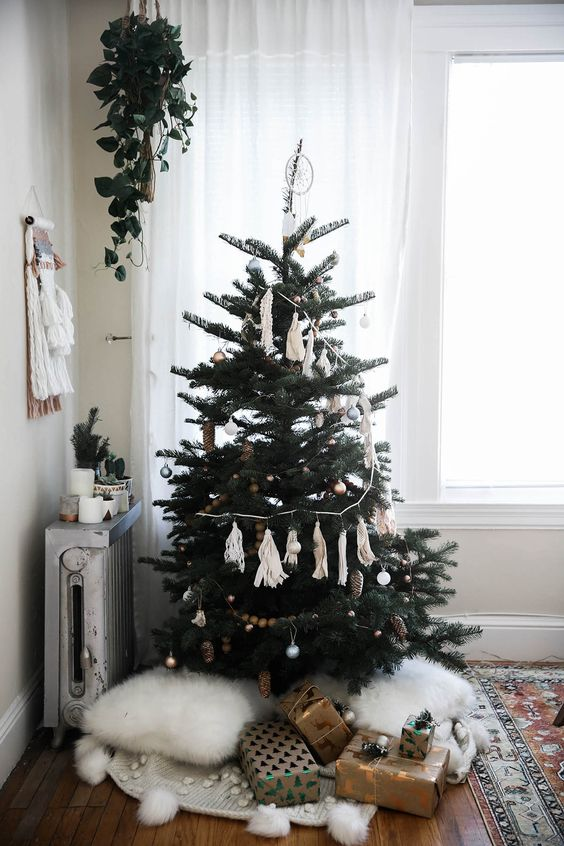 boho christmas tree - Boho Christmas Decor