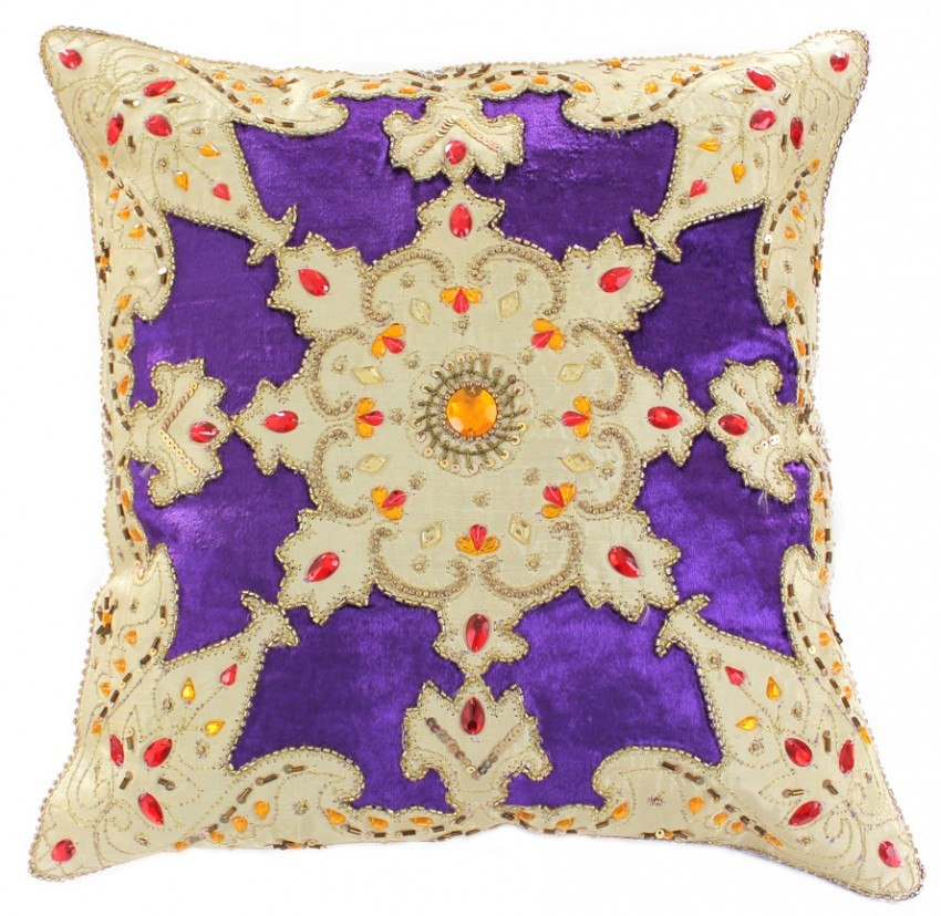 Velvet Sparkle Throw Pillow Cover Set Of 2 Banarsi Designs