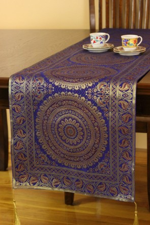 The Only Way That You Can Inject A Moroccan Edge Into Your Home Boho Printed Table Runner Or Placemats Instantly Transform Worktop