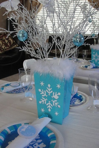 Cool ideas for an elegant quot frozen theme party